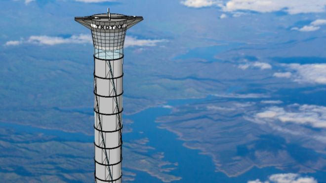 space-tower