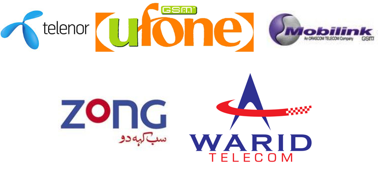 Pakistan-Mobile-Companies-networks