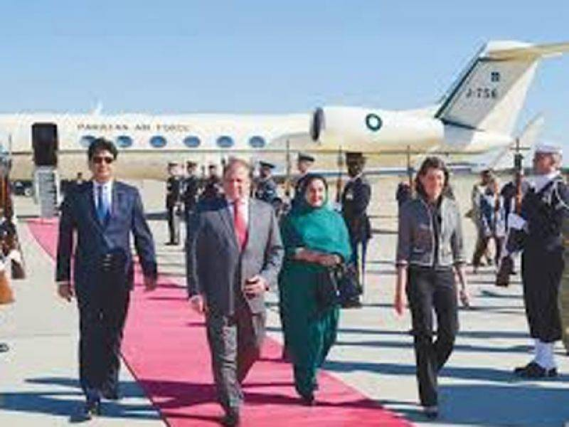 nawaz sharif in us