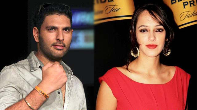 Cricketer-Yuvraj-Singh-Dating-With-English-Bodyguard-Actress-Hazel-Keech