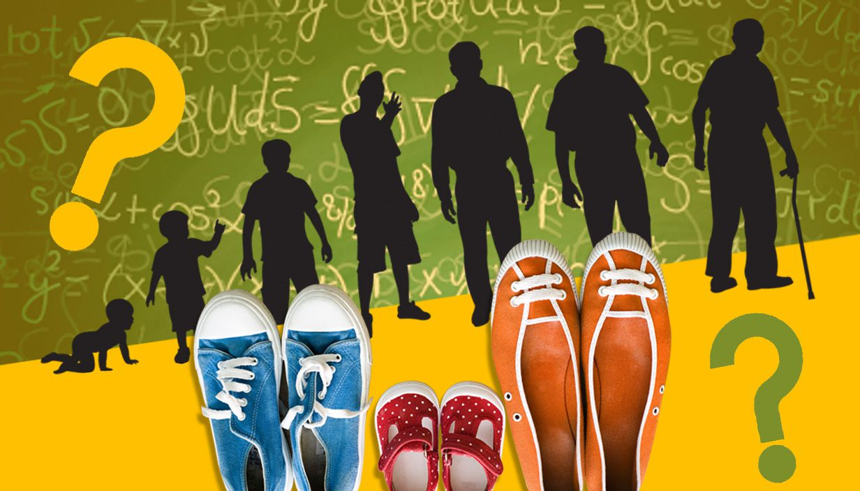Get your age and shoe size by math's formula