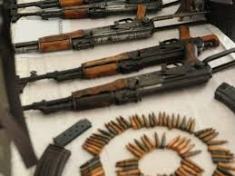Security forces recover huge cache of weapons in Peshawar