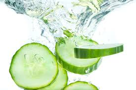 Use cucumber to loose weight