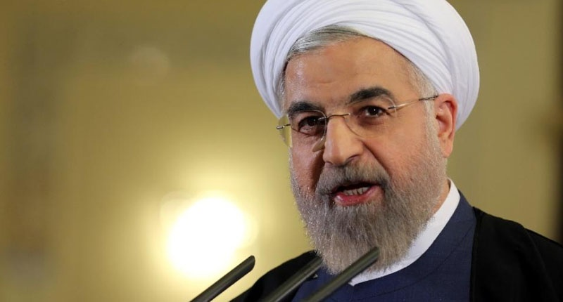 iran President Hassan Rouhani visit Itly