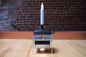 Generate electricity with a candle