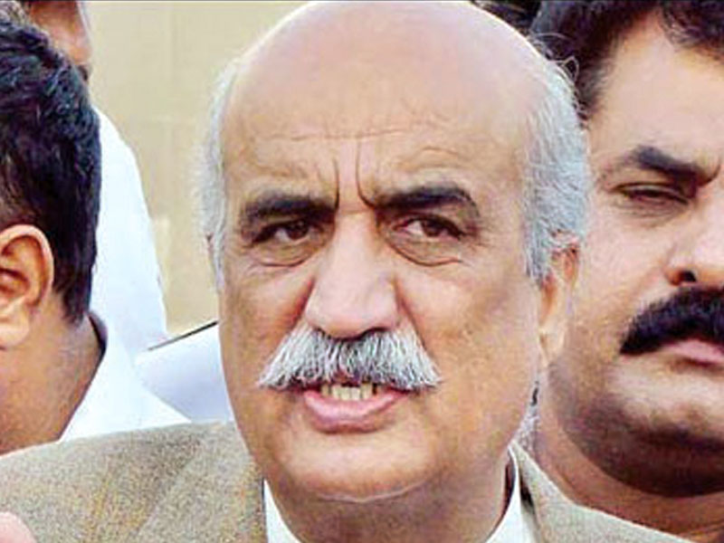 Khursheed Shah offers support to PM for sake of democracy