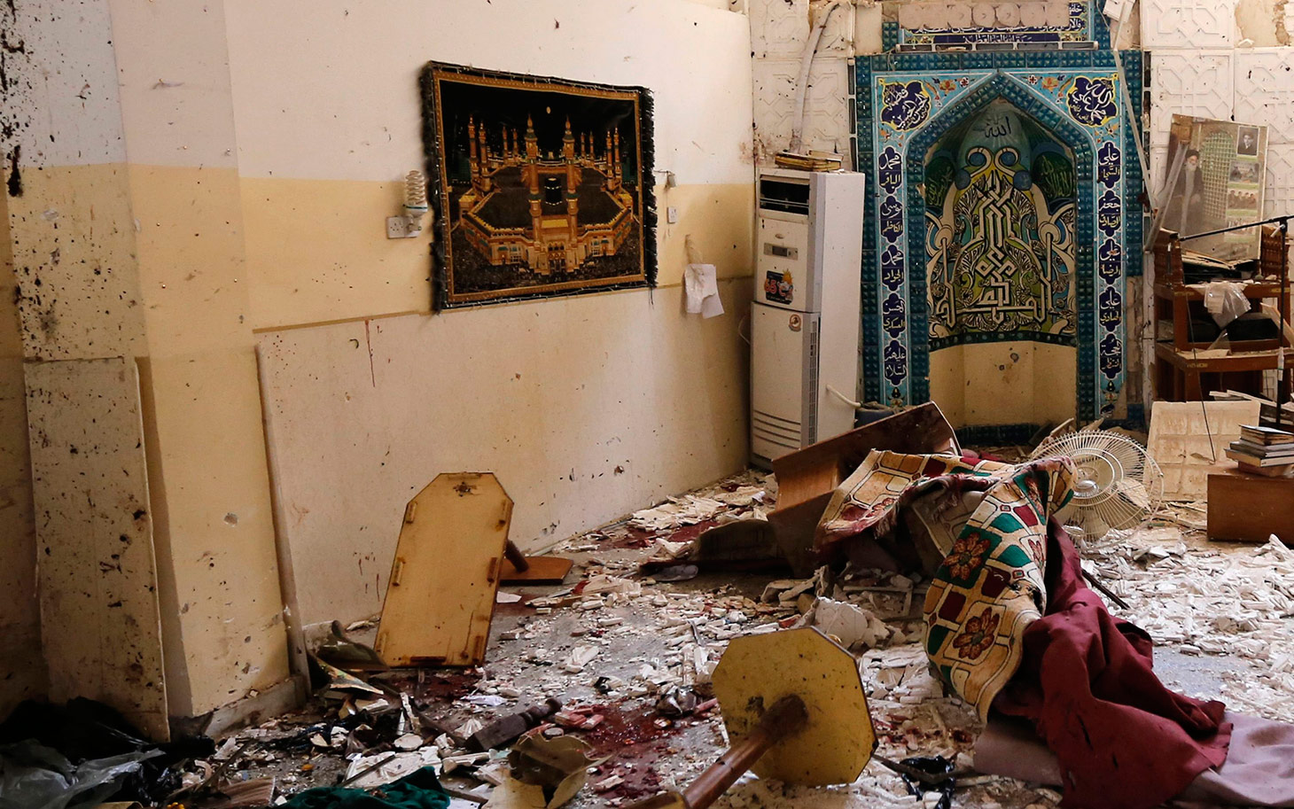 Several dead in Baghdad Shia mosque double bombing