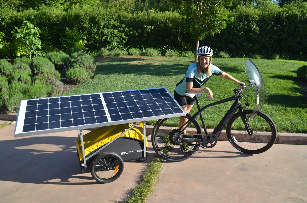 Solar Electric Bicycle