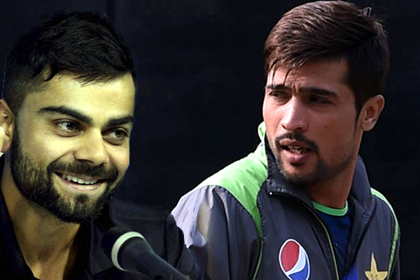 Virat Kohli is happy to see Muhammad Amir back in action for Pakistan