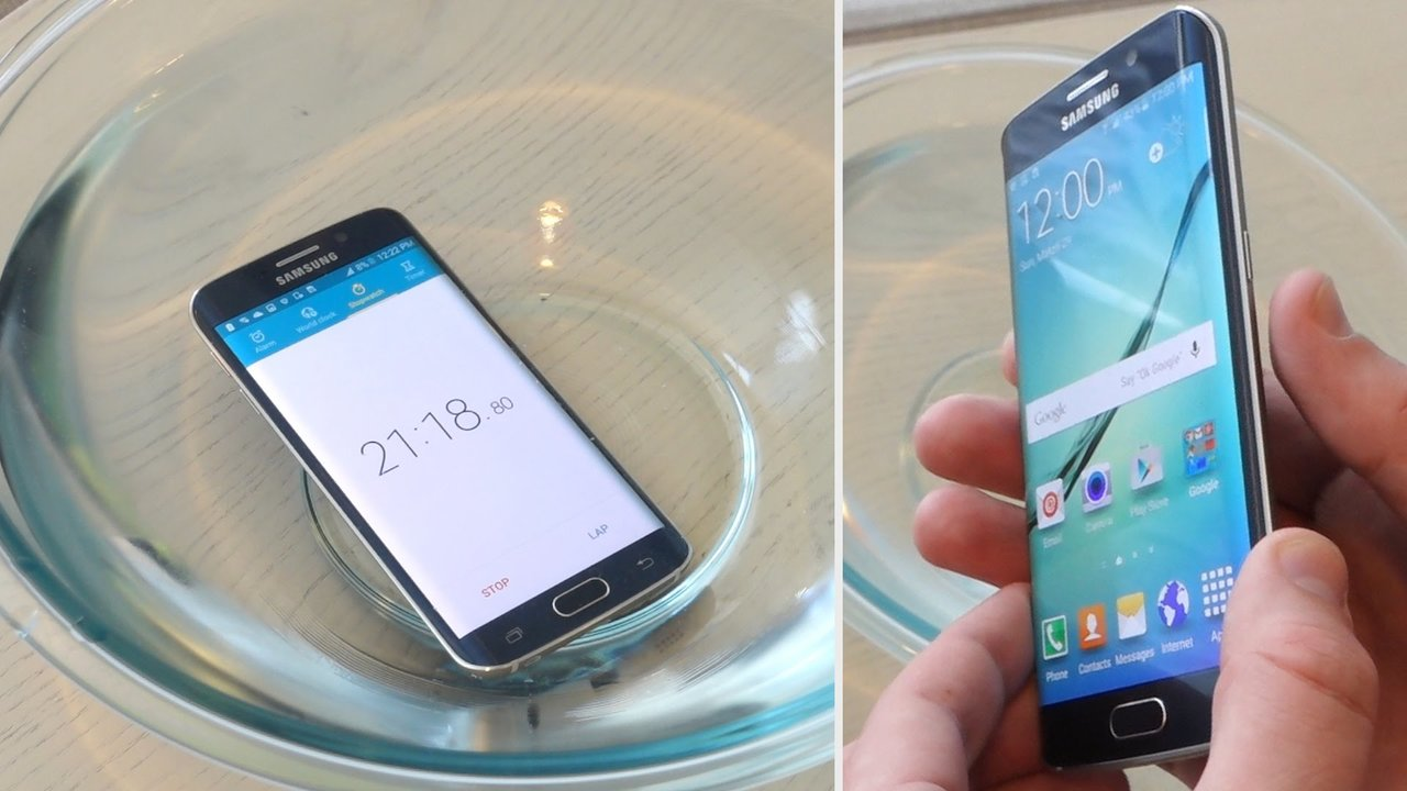 Waterproof features and wireless charging