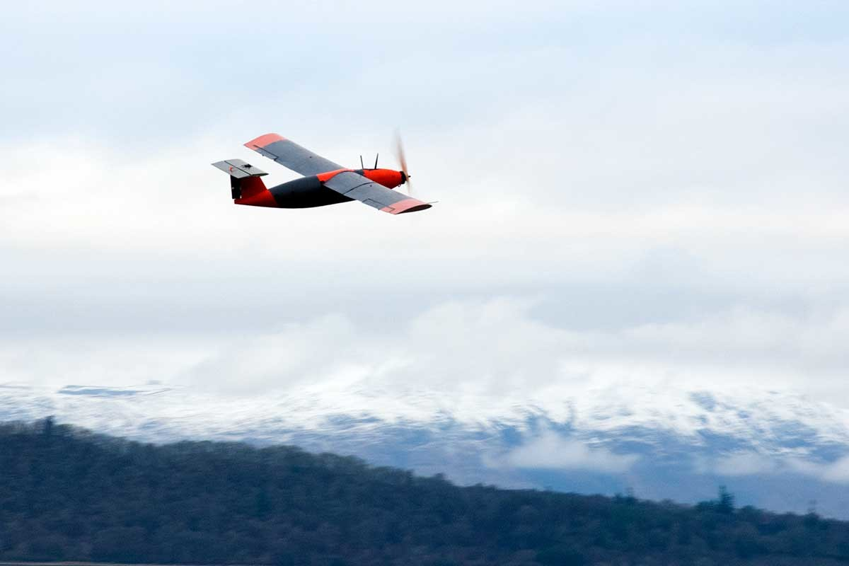 World's first hydrogen pellet drone flight