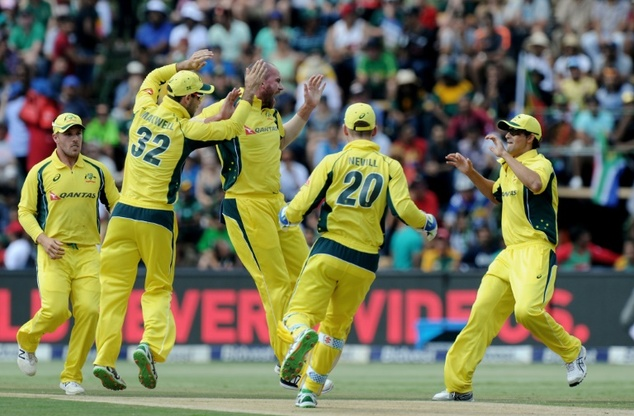 Australia beat South Africa by six wickets