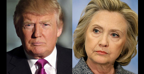 Hillary Clinton and Donald Trump on course to November showdown