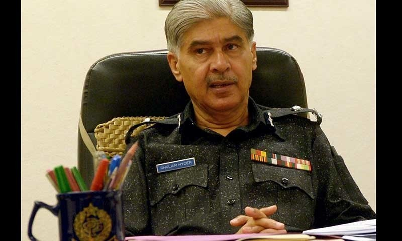 IG Sindh Ghulam Haider Jamali removed from post