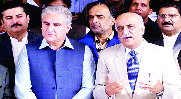 opposition leader and shah mehmood