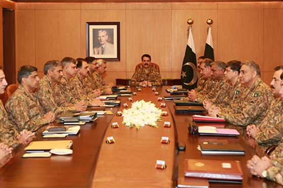 army chief conference