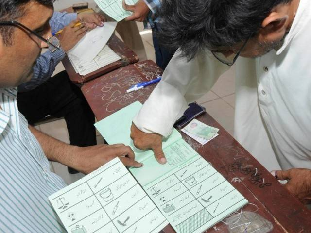 poling election voting